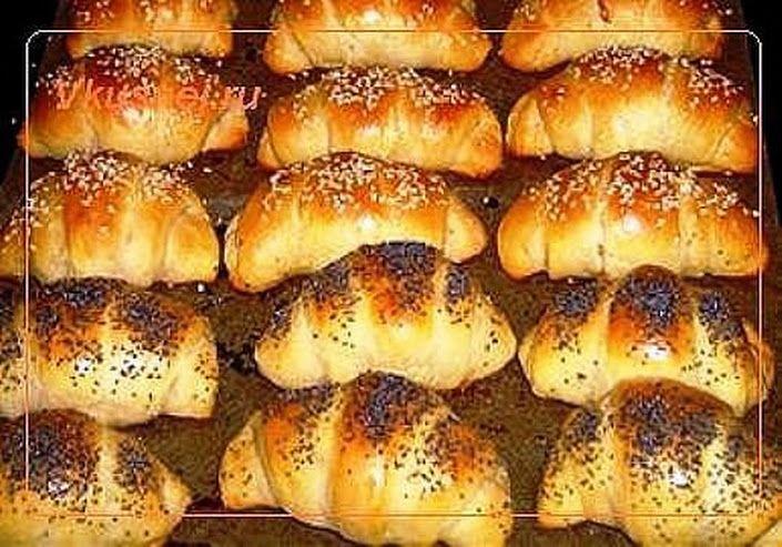 Рогалики - оригинальный рецепт выпечки на кефире, готовить просто, получаются рогалики очень вкусные. Кунжут и мак придают пикантности, Рецепт здесь »> ... - Инна Клочкова - Google+