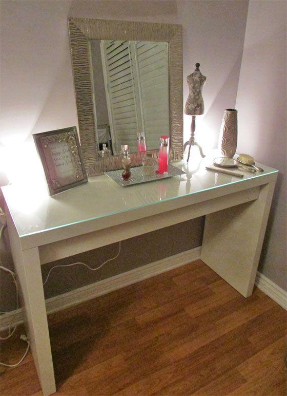 IKEA Vanity Table Idea