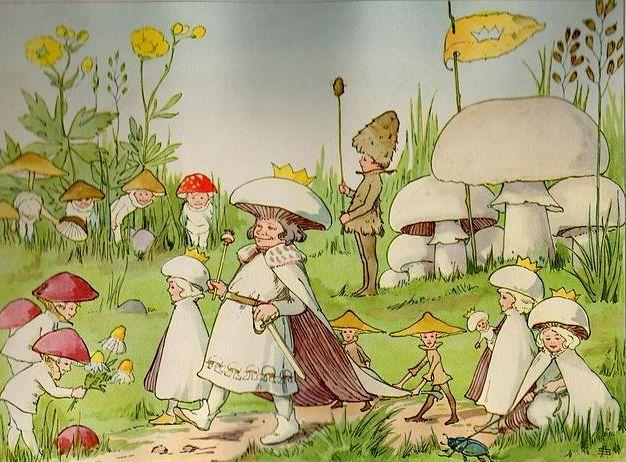 Nordic Thoughts: 'Småttingarnas svampbok'.