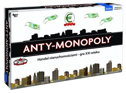 Granna - Anty-monopoly - gra planszowa