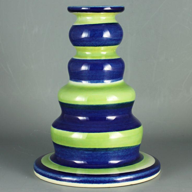 Marianne Westman (Lotta 1966) Striking Colorful Candleholder