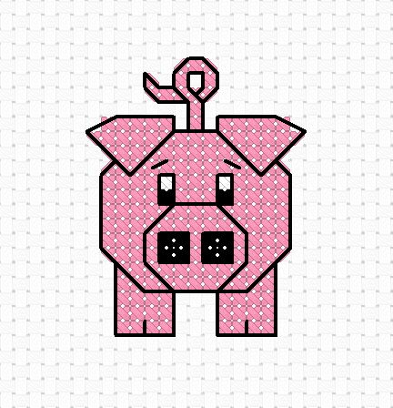 Hello all Please feel free to download our free cross stitch pattern 'Percy the Pig'. You can download this by clicking on the link below t...