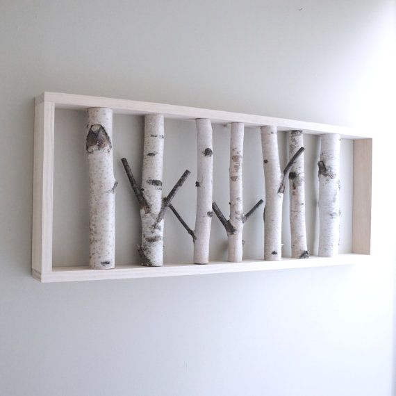 Love this idea for a wall hanging... it could go so many directions!