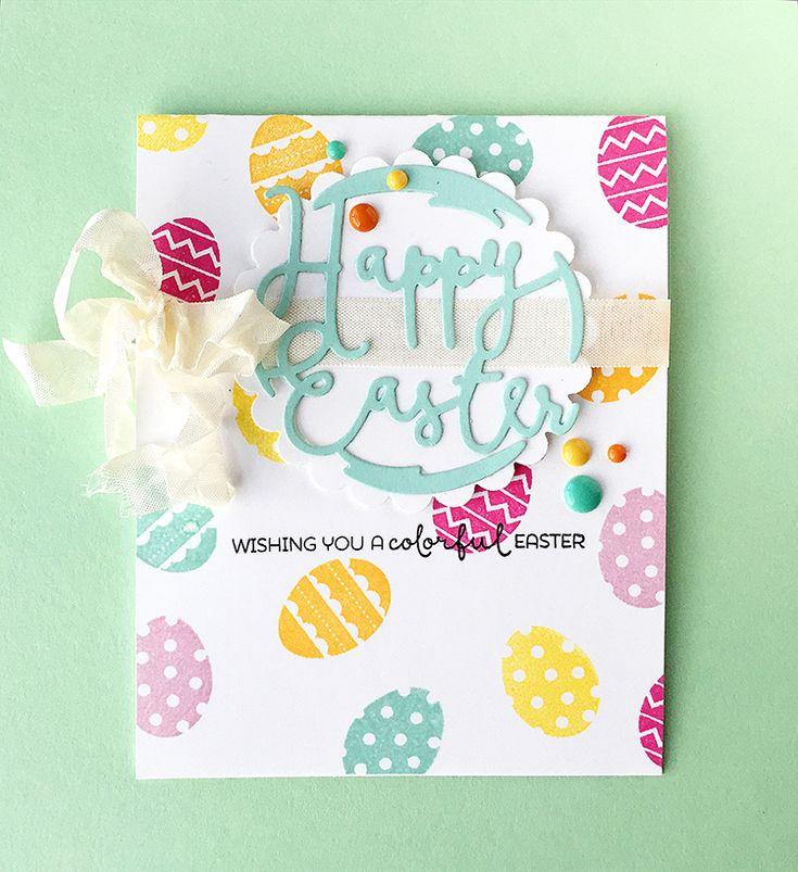 186 best cards Easter images on Pinterest Cardmaking, Making - sample easter postcard template