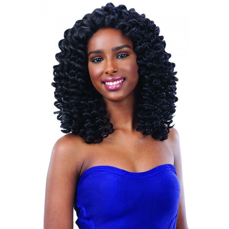 Freetress Equal Wand Curl Collection Braided Wig   Bubble Wand