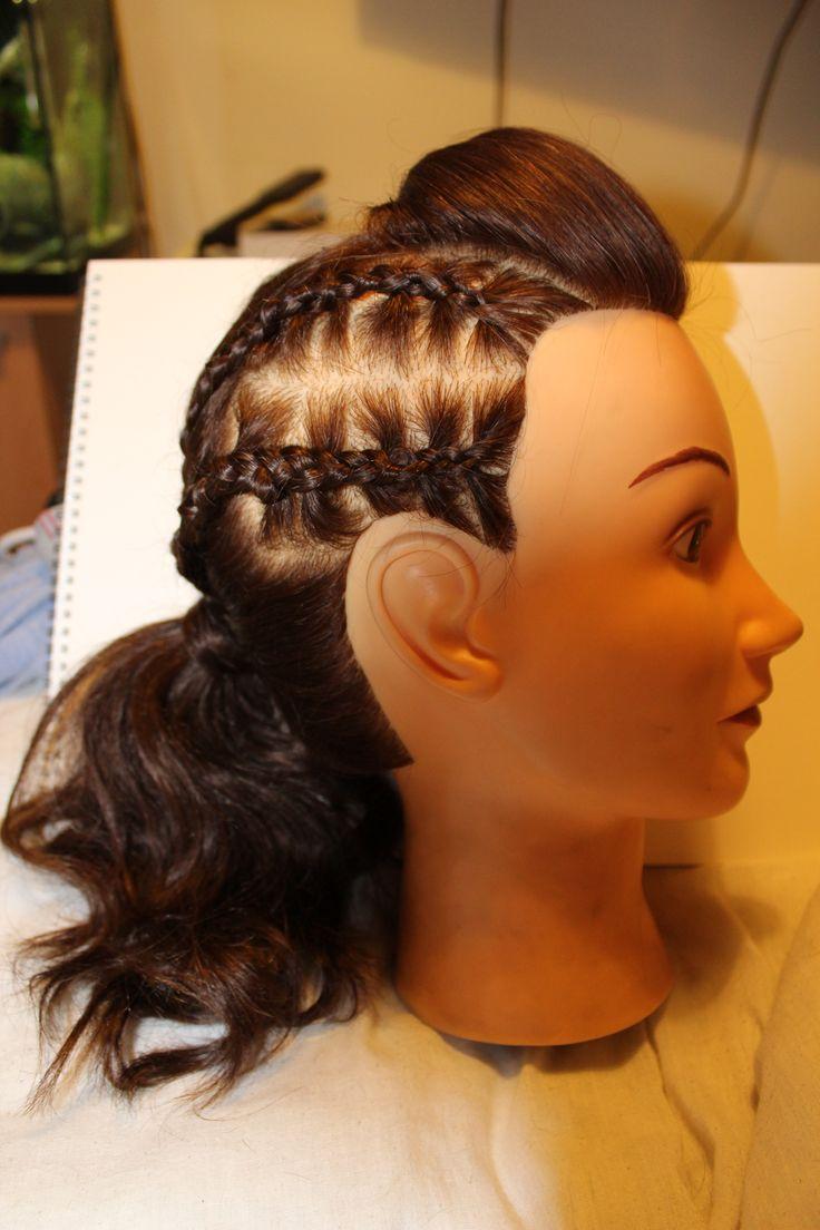corn roll hair styles