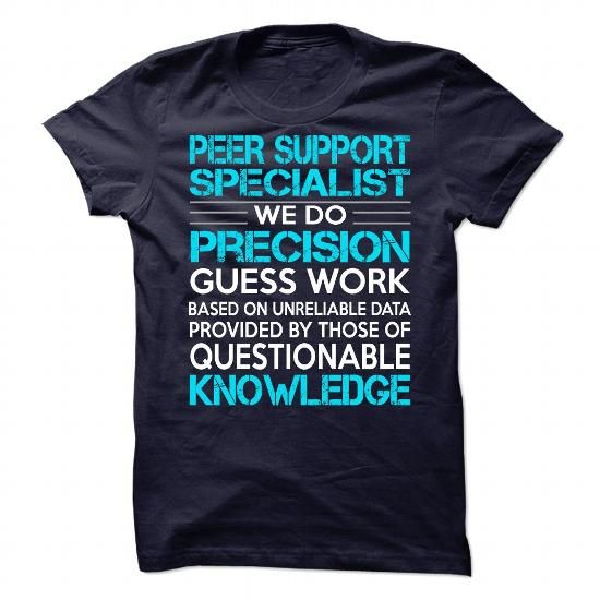 nice Awesome Shirt For Peer Support Specialist