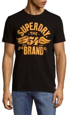 Superdry Short-Sleeve Graphic Logo Tee