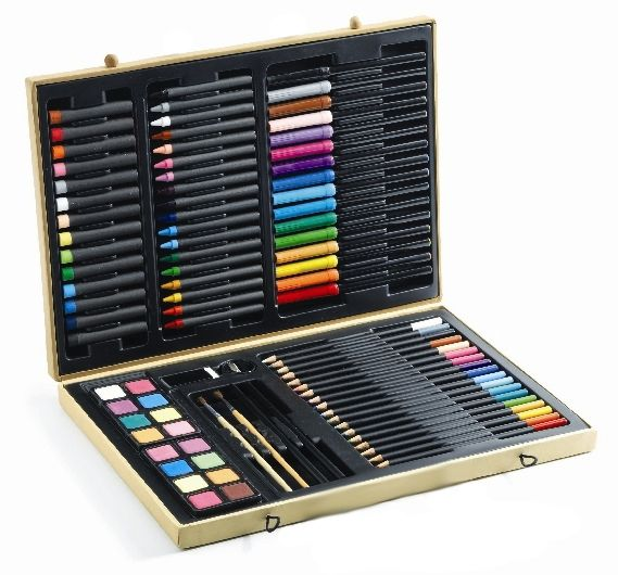 Big set of coloured pencils - must have at school! #backtoschool