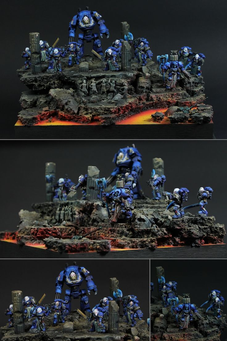 Ultramarines: Artifact Search, Space Hulk Librarian Calistarius