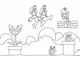 video game and lego coloring pages