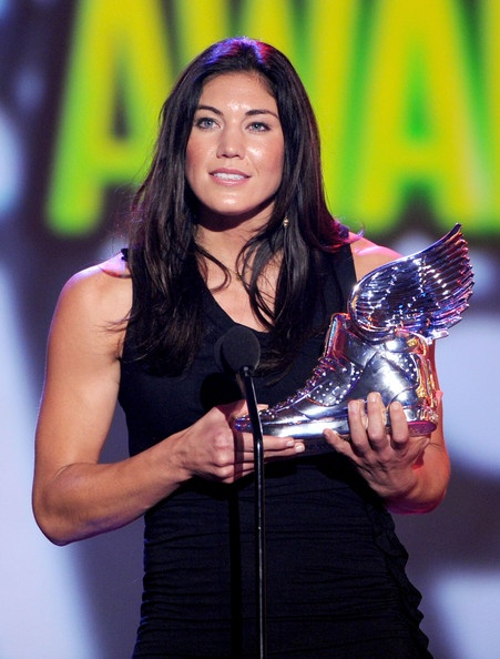 Hope Solo, 2012 Do Something Awards, Santa Monica, Calif., Aug. 19, 2012. (Christopher Polk/Getty Images)