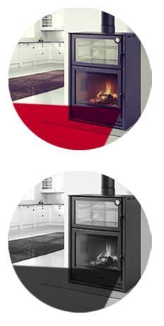 Hergom - Estufas, hogares y chimeneas de hierro fundido para leña y gas. Europa América - Productos