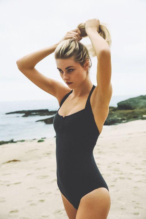 Black #swimsuit