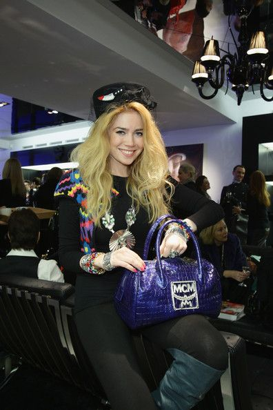 Palina Rojinski Photos: Pre-Christmas Reception At MCM Store