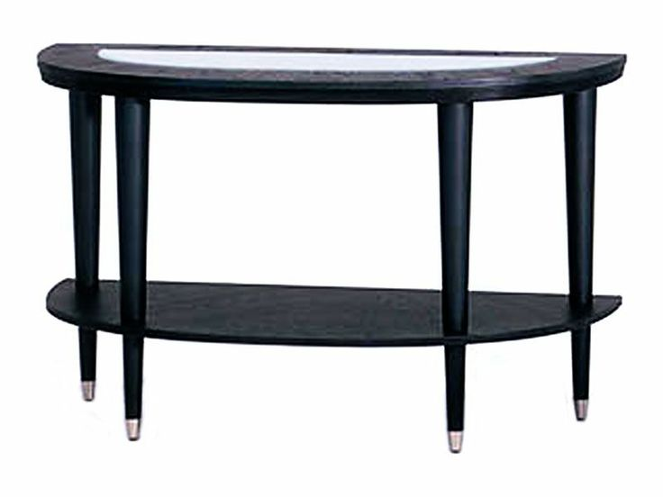 Modern half-moon sofa table with extra shelf for storage and tempered glass top to display decor. | Ontario Sofa Table cort.comOccasional Tables, Sofa Tables, Living Rooms, Rental Furniture, Half Moon Sofas, Sofas Tables, Sofas Table'S, Ontario Sofas, Tables Cortes Com