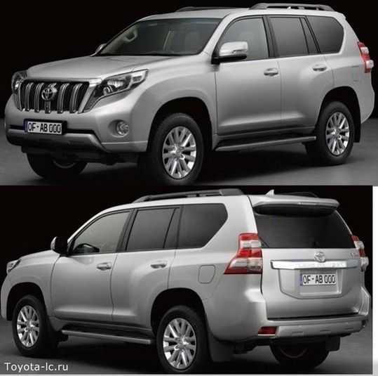 Facelifted 2014 Toyota Land Cruiser Prado and Lexus GX Allegedly Leaked - Carscoops
