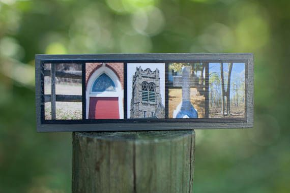 Segno della lettera di fede Mini legno foto  foto di fede di