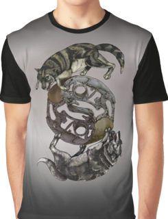 Wolves Taiji Graphic T-Shirt