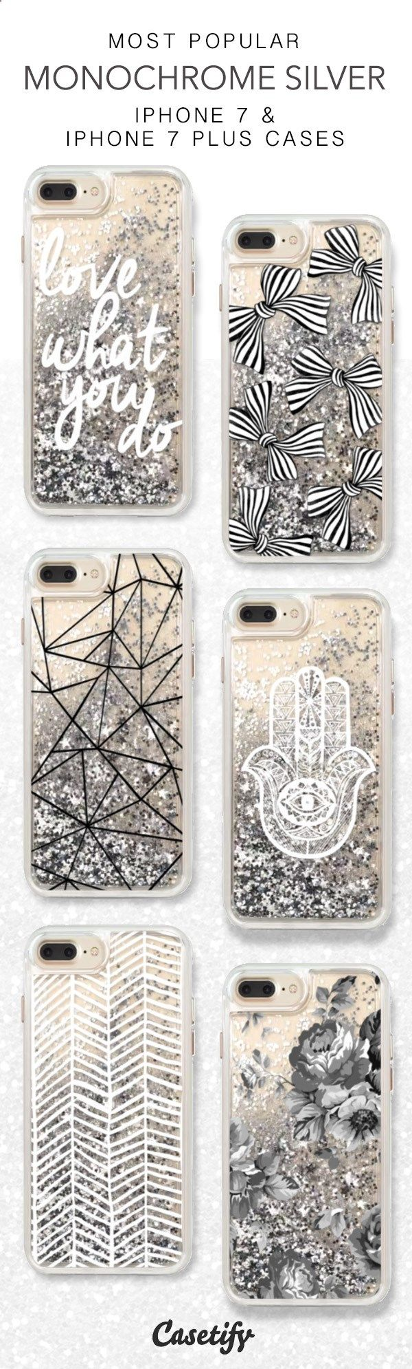 Cell Phone Cases - Phone Cases - Most Popular Monochrome Silver iPhone 7 Cases here > www.casetify.com/... amzn.to/2s1QEt1 - Welcome to the Cell Phone Cases Store, where you'll find great prices on a wide range of different cases for your cell phone (IPhone - Samsung)