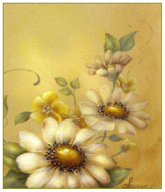 $7.95 - Painting Pattern - Who Else Wants To Learn To Paint Spring Daisy Flowers   In Only In An Evening Or Two?