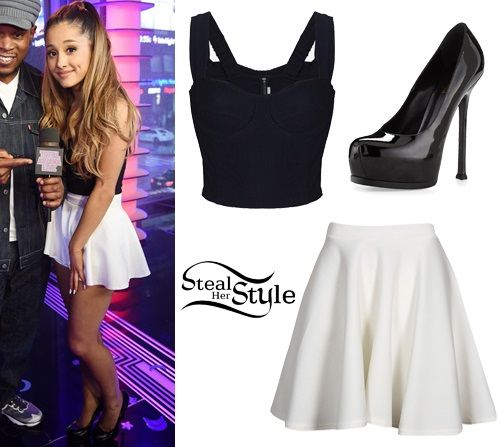 Ariana Grande's Clothes & Outfits | Steal Her Style | Page 10