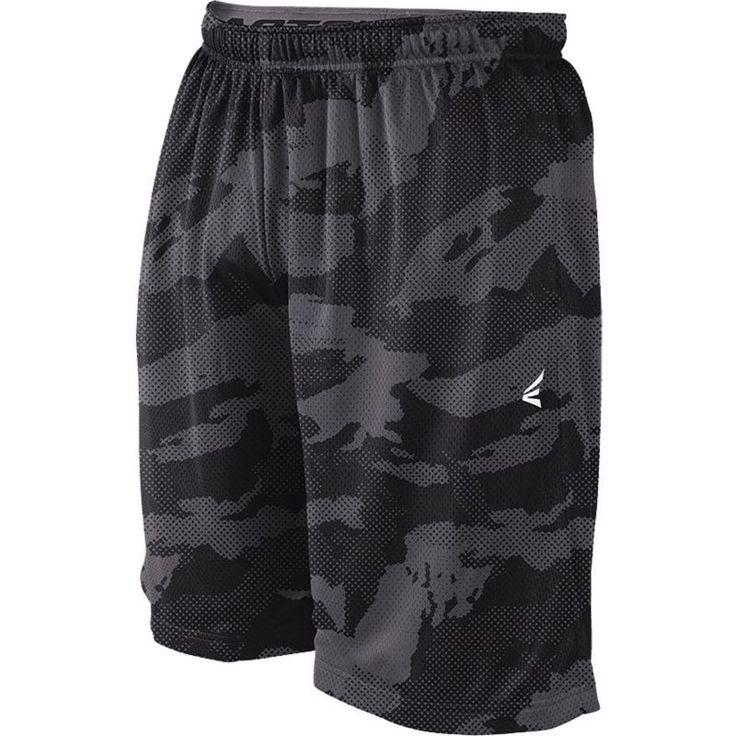 Easton Men's M5 Basecamo Mesh Baseball Shorts, Size: Medium, Black