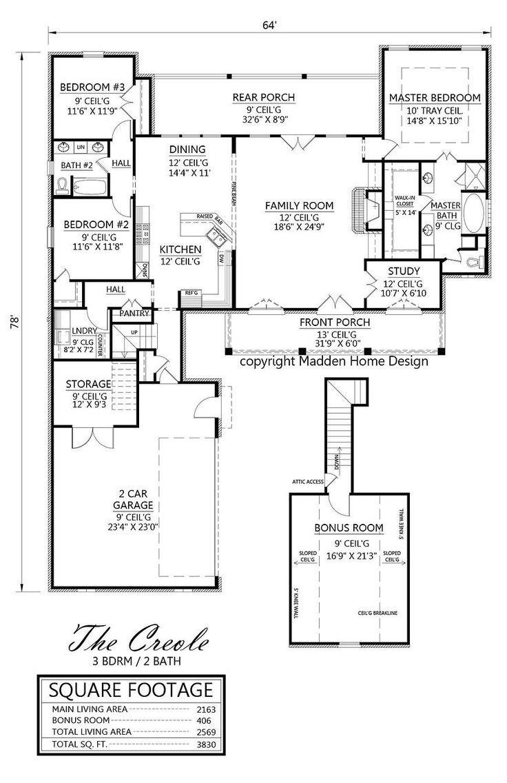 Best Images About House Plans On Pinterest French Country - Madden home designs