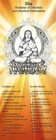 Sita Hindu goddess of devotion and surrender.  The Goddess Returns | Integral Life