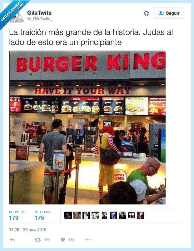 Judas McDonald lo tendrían que llamar por @_GilaTwits_   Gracias a http://www.vistoenlasredes.com/   Si quieres leer la noticia completa visita: http://www.estoy-aburrido.com/judas-mcdonald-lo-tendrian-que-llamar-por-_gilatwits_/