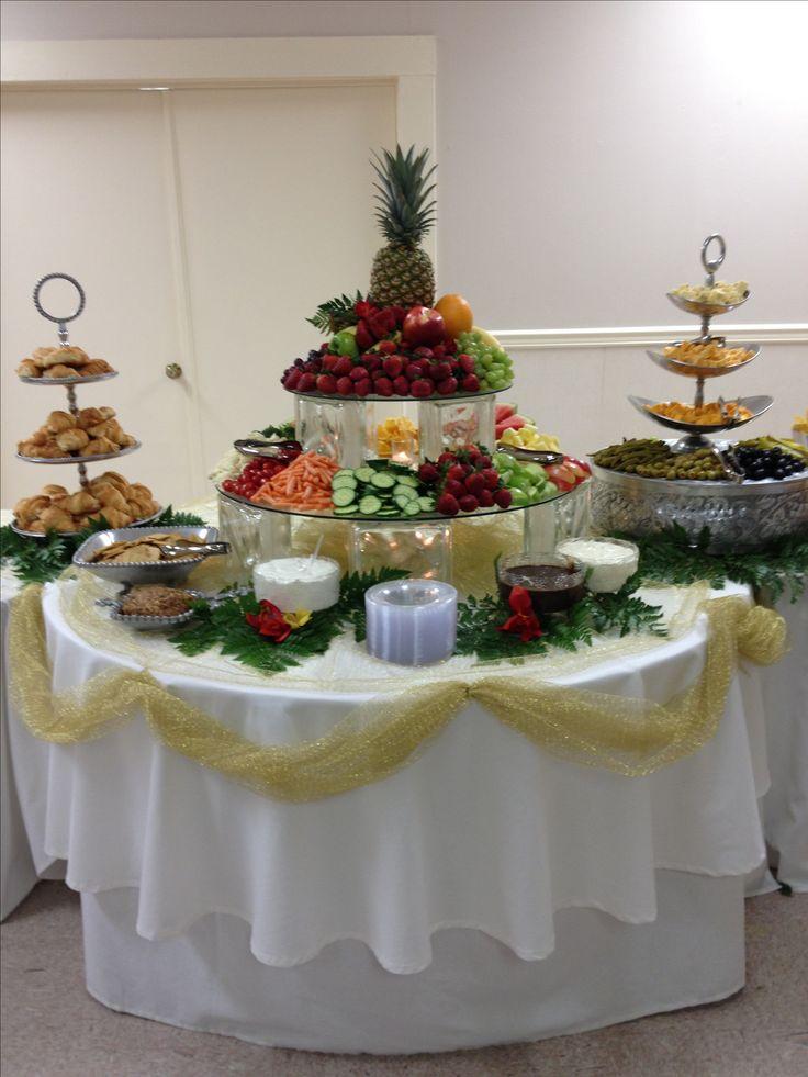 Fruit & Veggie Table.  Shady Oaks Catering!
