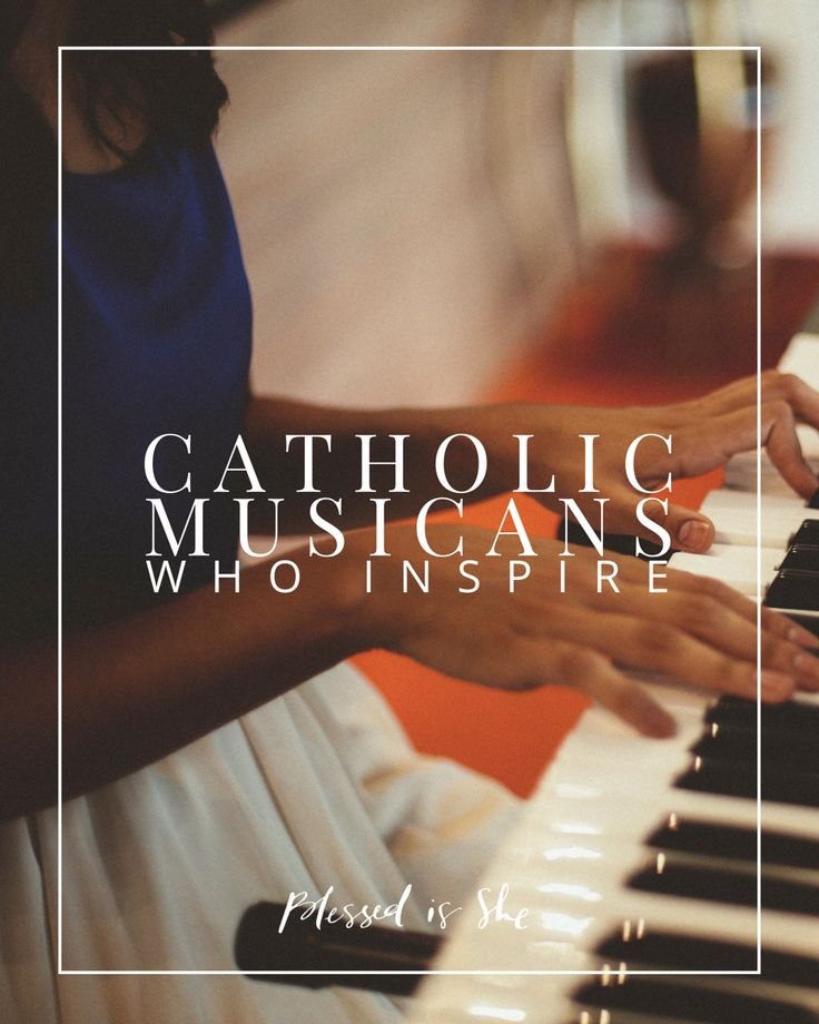 Looking for new music  Catholic musicians who inspire us  and a spotify playlist so you can check them out yourself