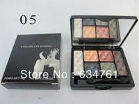 las mejores marcas de maquillaje profesional 1pcs / lot Nueva 6 colores paleta de sombra de ojos maquillaje 15g