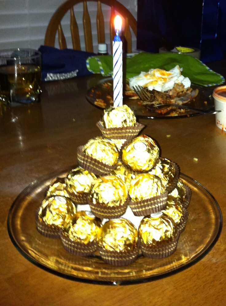 Ferrero Rocher Birthday Cake Tammy S Cakes Pinterest