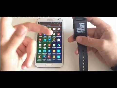 Pebble SmartWatch | Pebble SmartWatch for iPhone and Android Reviews
