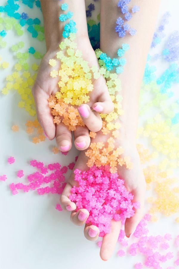 日本人のおやつ♫(^ω^) Japanese Sweets 金平糖(こんぺいとう) Sugar Fix: Sugarfina Pasadena こんぺいとうですけど…
