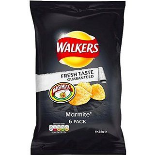 Crisps - Marmite (6x25g)