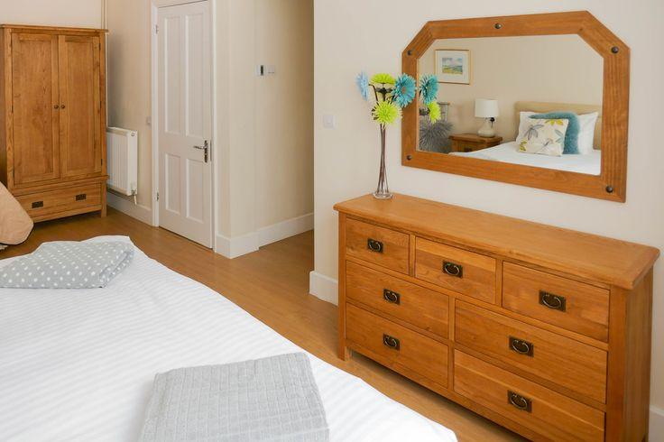 Bedroom 1 on the ground floor.