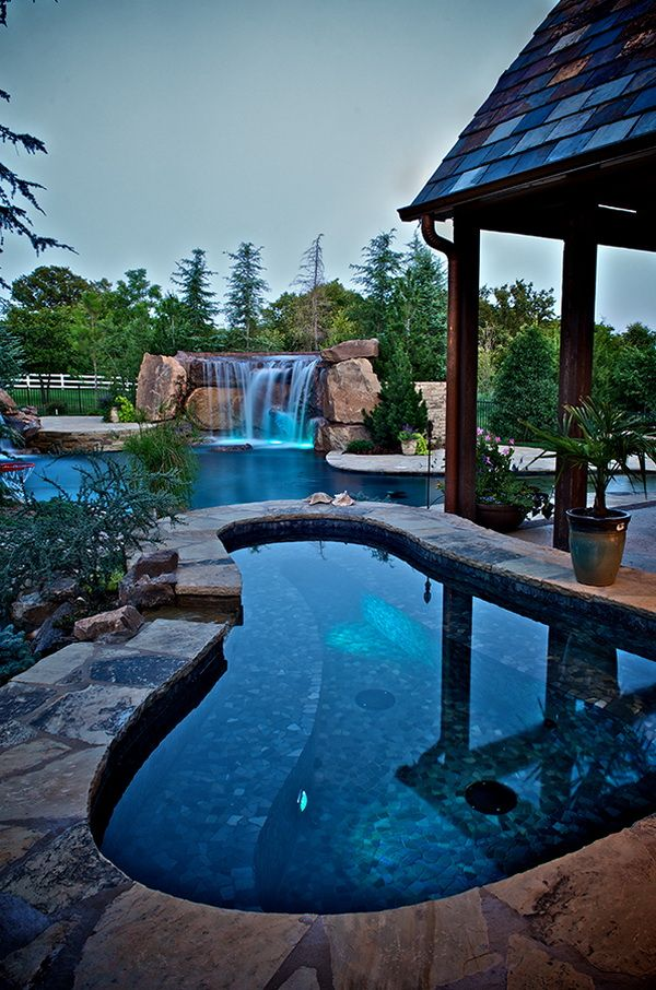 149 best images about cool in the pool on pinterest pool waterfall swimming pool designs and - Cool backyard swimming pools ...