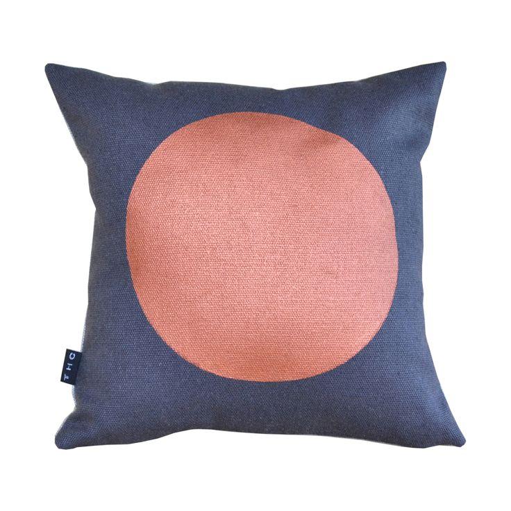 Mini Dot Copper/Charcoal