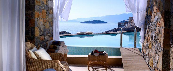 ST NICOLAS BAY RESORT HOTEL & VILLAS ***** Crète, Grèce Séjour en famille dans le resort le plus chic de la méditerranée.