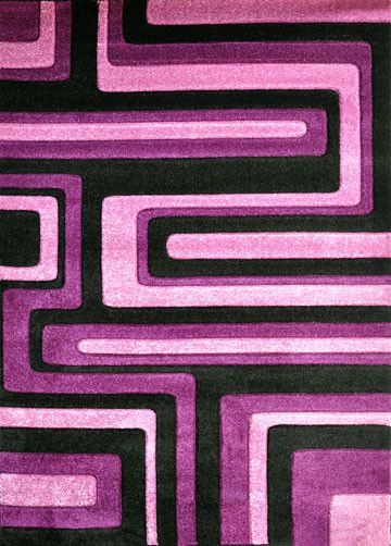 V1006 Purple Area Rug
