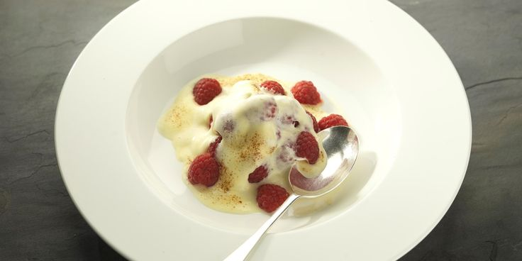 Scottish raspberries are known for their quality. In this raspberry recipe, they are used by award-winning chef, Martin Wishart for an elegantly simple pud