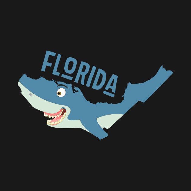 A funny map of Florida.