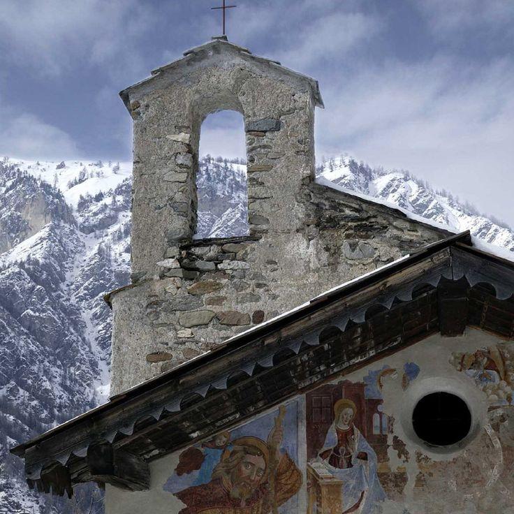 Cappella di Notre Dame a Cougnet in Frazione Melezet di Bardonecchia (To) #Piemonte