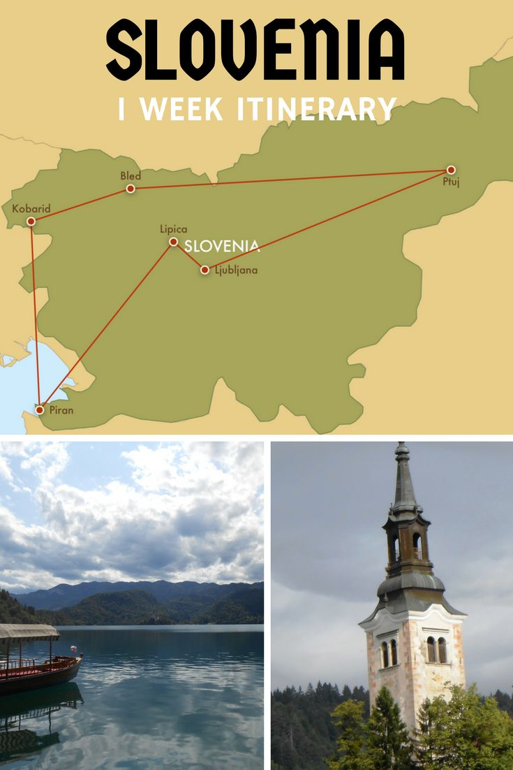 A Slovenia Itinerary One Week in Slovenia