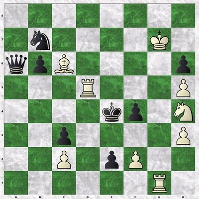 chess strategy daily puzzle new year checkmate in 3 white to move and