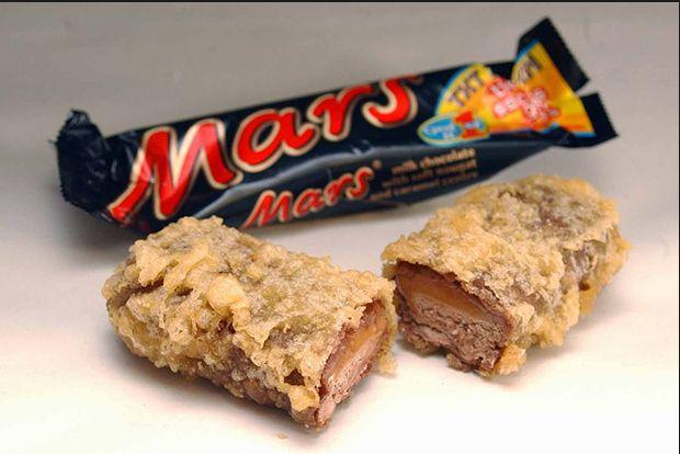 Deep Fried Mars Bar