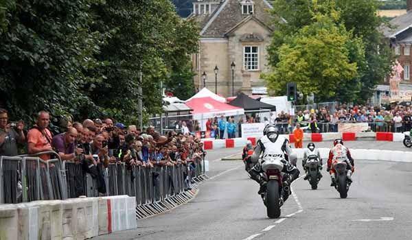 Brackley Festival of Motorcycling, Brackley Town centre, Northants