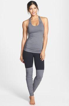 Alo 'Goddess' Ribbed Leggings | Shop @ FitnessApparelExpress.com